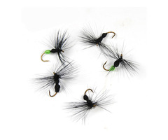 ZANLURE 10pcs/set 15mm Simulation Ant Lure Flying Fishing Lure Artificial Ants Baits With #10 Hook