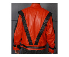 Happy Christmas| MICHAEL JACKSON THRILLER VINTAGE LEATHER JACKET