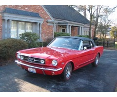 1965 Ford Mustang K-Code Convertible