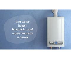 Top class water heater installation & repair service in Aurora CO