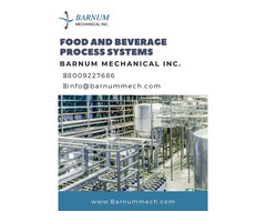 Food and Beverage Process Systems | Loomis - Barnummech