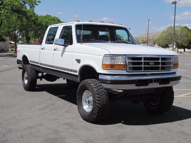 sell 1996 ford f 350 crew cab xlt 2500 trucks commercial vehicles albuquerque new. Black Bedroom Furniture Sets. Home Design Ideas