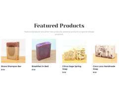 Shop for various natural  soap for men - mike's soaps