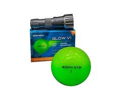 GLOWV1 NIGHT GOLF BALLS – BEST HITTING ULTRA BRIGHT GLOW GOLF BALL