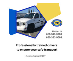 Professionally trained drivers to ensure yoursafe transport