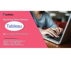 Tableau Online Live Training - hachion