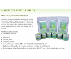 Buy Wholesale Matcha Green Tea Powder Online from AOI