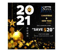 """Happy Christmas"" NEW ARRIVALS SuperJackets"