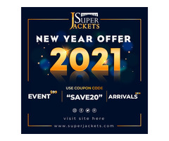 Happy New Year With Superjackets Online Store