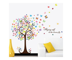 Butterfly Tree Wall Decal Stickers