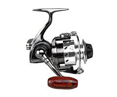 MN100 4.3:1 Mini Ice Fishing Reel Metal Spool Left/right Interchangeable Spinning Reel Gear For Pen