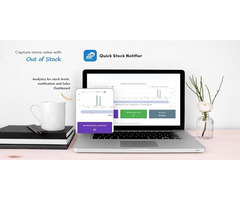 Download Quick Stock Notifier App for your Ecommerce Store by HubifyApps