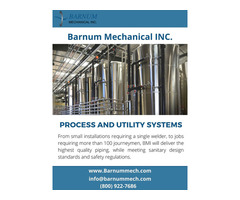 Process and Utility Piping Systems | Process Systems - Barnummech