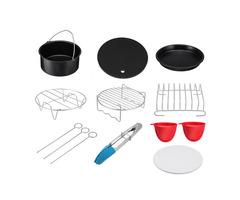 9 In 1 Set  Air Fryer Accessories Kitchen Fryer Pizza Pan Bread Shell Frying Pan Mutifunctional