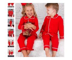 Christmas Pajamas for Girls - Miabellebaby