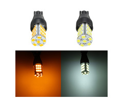 1Pcs T15 33SMD LED Car Backup Reverse Lights Brake Width Lamp Bulb DC 12V White/Yellow