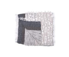 Shop Online Belinda Throw, Charcoal - Casa Amarosa