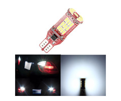 1Pcs T15 4014 33SMD LED Car Tail Brake Stop Lights Reverse Turn Sighal Bulb 6.5W 12V White