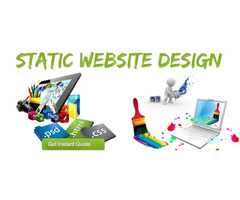 Excellent Static Web Design Services from DHS Experts