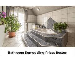 Bathroom remodel cost in Boston