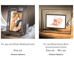 Lovable photo frames for display and gifting