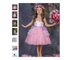 Unicorn Party Dress - Miabellebaby