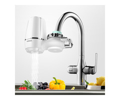 KONKA Faucet Water Filter Elements Washable Filtration Kitchen Basin Tap Purifier Fit Most Faucets