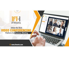 Utilize the Best Video Conferencing Platform for Business Meeting
