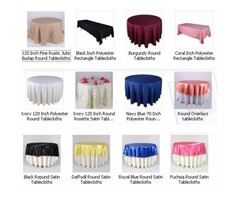Buy High Quality Round Tablecloths at Discount Prices