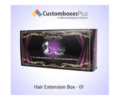 Advanced Hair Extension Boxes Wholesale for your shop's counters