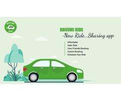 BHUUMI Ride - New Taxi-Hailing App