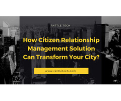 Citizen Relationship Management Application for Android and IOS