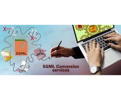 SGML Conversion services