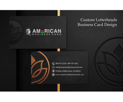 Create Custom Letterheads Design Online at Low Cost