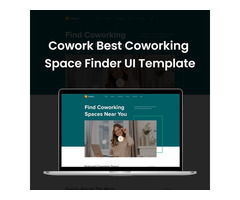 Co-working space Finder UI Template