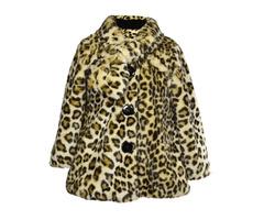 Girls Faux Fur Coats - Miabellebaby