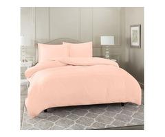 Delight and Bright Peach Comforter