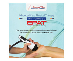 EPAT Treatment for Acute Pain and Injuries in New Jersey