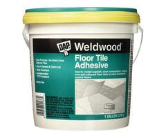 DAP 7079800137 Floor Tile Adhesive Gal Raw Building Material