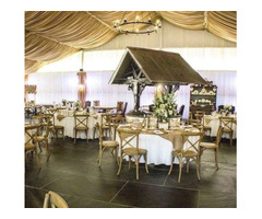 wedding reception facility at Vale Country Club