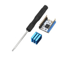 3Pcs Ultra-silent TMC2130 Stepper Motor Driver Module w/Heat Sink DIY Kit For 3D Printer
