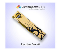 Attractive packaging of Custom Eyeliner Boxes in USA