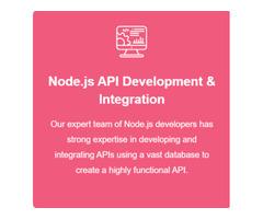 Hire Node.js Developers For Quick Cross-Platform Development, USA