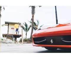 Hollywood Rental Agency for Ferrari 458 Italia Spider at Luxury Auto Rental