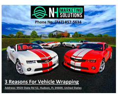 3 Reasons For Vehicle Wrapping