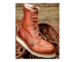 Oil Tanned Leather work boot by thorogood