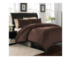 Chocolate Brown Duvet Cover