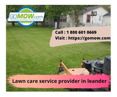Affordable Lawn care service provider in leander Texas – Gomow