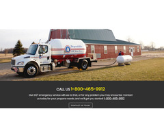 Residential Propane delivery service at your doorstep - Dependable LP Gas Co.