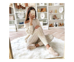 Winter Cotton Night Suit Female